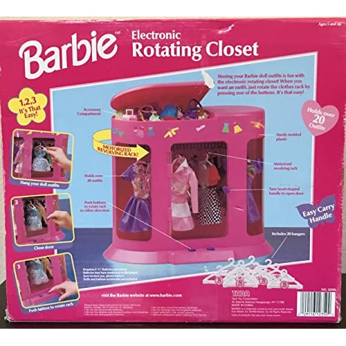 Barbie Electronic Rotating Closet 30%OFF