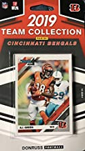Cincinnati Bengals 2019 Donruss Factory Sealed 11 Card Team Set with Andy Dalton and Anthony Munoz Plus 8 Other Cards Including 3 Rookies