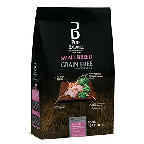 Pure Balance Small Breed Grain Free Chicken & Vegetable Dry Dog Food, 11 lbs