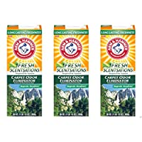 Lot of 3- Arm & Hammer Fresh Sensations Carpet Odor Eliminator Majestic Meadows