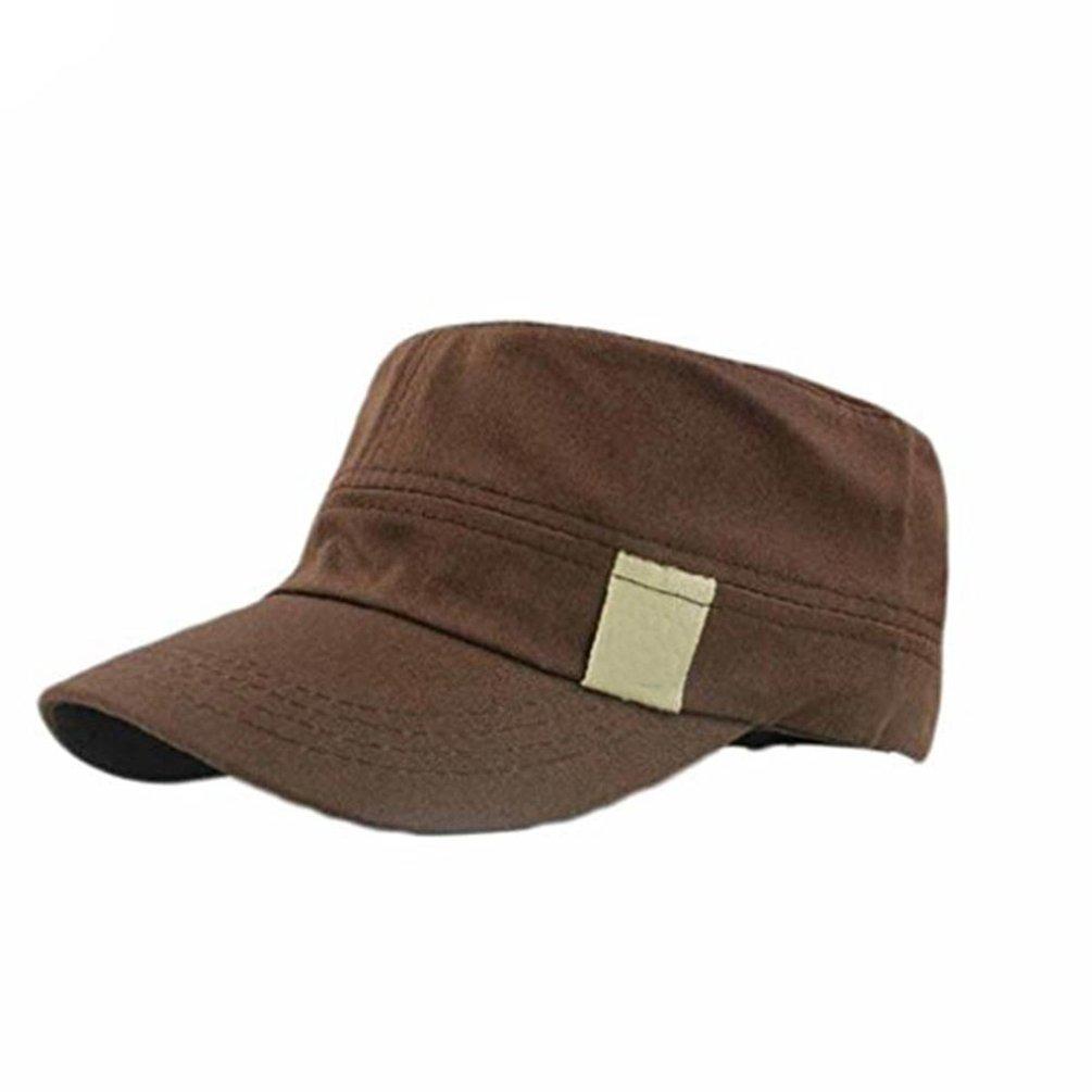 bismarckbeer Classic Men's Army Caps Military Hat Outdoor Flat Sun Hat