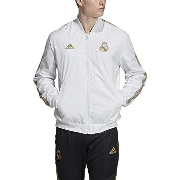 Amazon.com: adidas Real Madrid Anthem Jacket: Sports & Outdoors