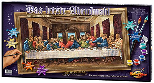 The Last Supper Acrylic Paint-by-number