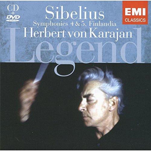 Sibelius: Finlandia; Symphonies Nos. 4 & 5 (Bonus DVD) (Sibelius Symphony 5 Karajan compare prices)