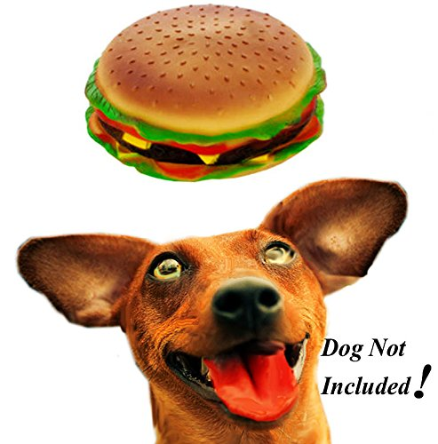 Kolt Make Your Dogs Day! with a Jumbo Squeeky Cheeseburger