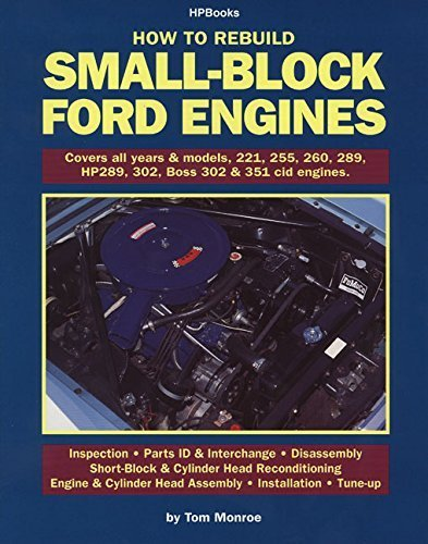 (Rebuild Small-Block Ford Engines HP89 by Tom Monroe (2011) Paperback)