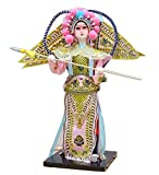 Black Temptation Traditional Chinese Doll Peking Opera Performer - Yang Zong Bao