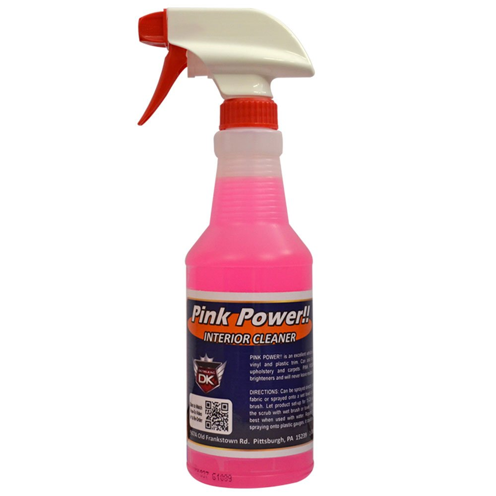 Amazon Com Detail King Pink Power Automotive Interior Cleaner 32 Oz