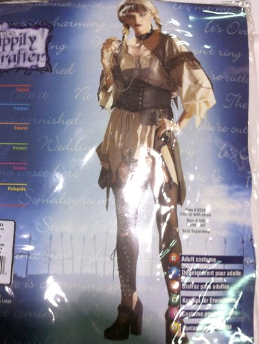 Sexy Gothic Gretel costume for Halloween size Large (Adult Gretel Costume)
