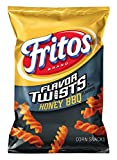 Fritos Flavor Twists Honey BBQ Flavor Corn Chips, 9.75oz (10 Pack)