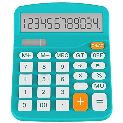 Helect H1001B-Calculator-BL Standard Function Desktop Calcul