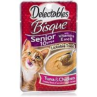 12-Pks. HARTZ Delectables Bisque Lickable Treat