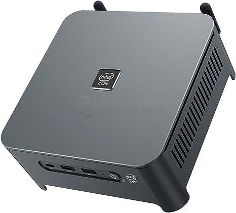 Amazon.com: TOPTON Gaming Mini PC, Desktop Computer,Intel Core i9 10880H i7 i5,Windows 10/Linux Ubuntu,2666MHZ DDR4 RAM,NVMe SSD,AC WiFi/BT/DP/HD/Type-C/2LANS/4USB3.0, 2USB2.0 (8GB RAM 256GB SSD, i7-10750H): Computers & Accessories