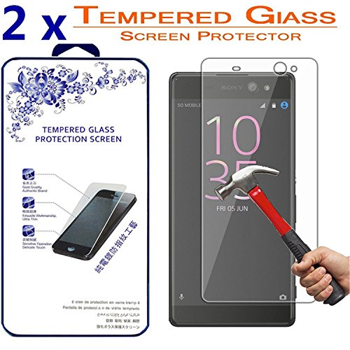 Tempered Glass Screen Protector for Sony Xperia XA - 2