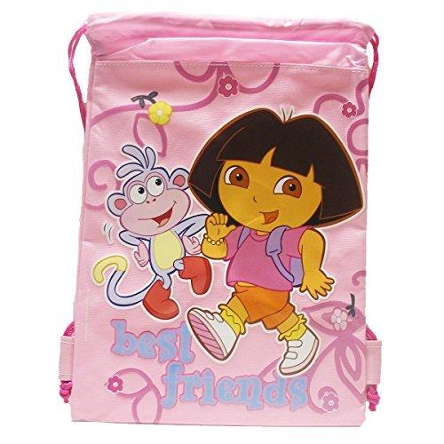 (Dora Drawstring Bag - Pink)
