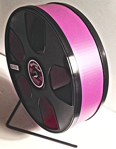 """SUGAR GLIDER/SMALL PET 11"""" DIAMETER EXERCISE WHEEL- BLACK PANELS WITH BURGUNDY TRACK"""