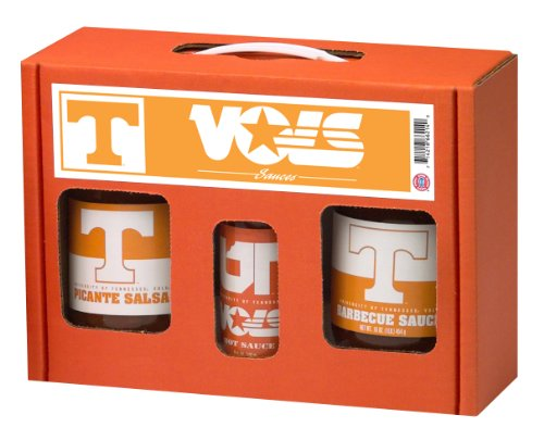 Hot Sauce Harrys 6214 TENNESSEE Vols TailGate Hot Sauce BBQ Salsa from Hot Sauce Harry's