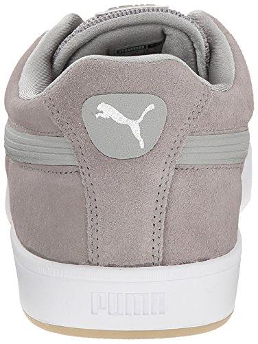 Sneaker Da Uomo In Pelle Scamosciata Di Puma Uomo Scamosciato Grigio / Bianco