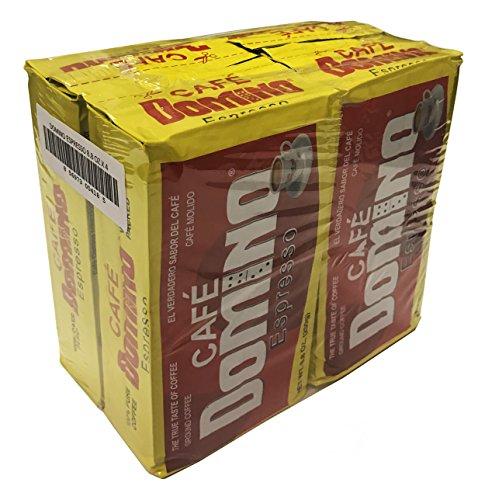 Dominoes Pack (Domino Espresso Coffee Brick 8.8 Oz Family Pack)