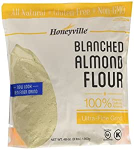 Amazon.com : Honeyville Blanched Almond Flour Super Fine