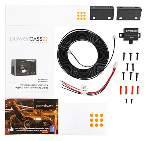 POWERBASS PS-AWB121 12'' 200w RMS Powered Subwoofer In Sub Box Enclosure+Amp Kit by PowerBass (Image #5)