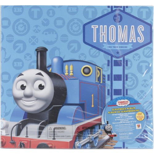 Top Postbound (Sandy Lion 12-Inch-by-12-Inch Thomas and Friends Embossed Postbound Album, Thomas The Tank)