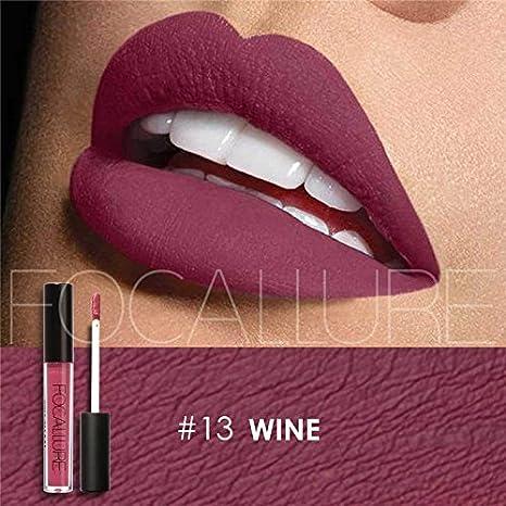 970c3af0ff Image Unavailable. Image not available for. Colour: Priaansha Creations Focallure  Waterproof Matte Liquid Lipstick Moisturizer Lip Gloss ...