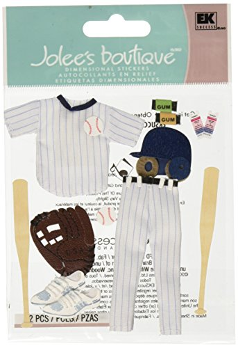 Jolee's Boutique Dimensional Stickers, Baseball