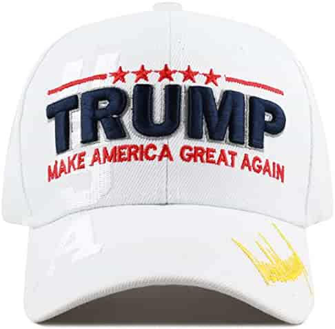 64caf1020411ee THE HAT DEPOT Exclusive 45th President Make America Great Again 3D  Signature Cap