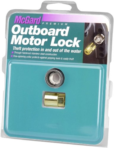 McGard 74054 Marine Single Outboard Motor Lock Set (M12 x 1.75 Thread Size) - Suzuki/Nissan/Tohatsu - Set of ()