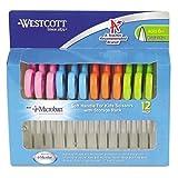 ACM14874 - Westcott Soft Touch Kids Microban 5 Pointed Scissors