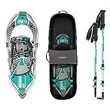 Yukon Charlie's Advanced 8x25 in. Women's Snowshoe Kit w/ Poles & Bag | 80-3006K