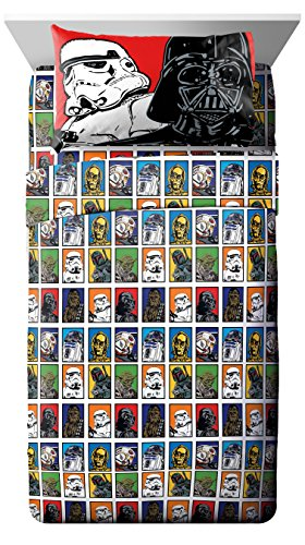 Lucas Film Star Wars 3 Piece Twin Sheet Set (Sheet Piece Twin 3)