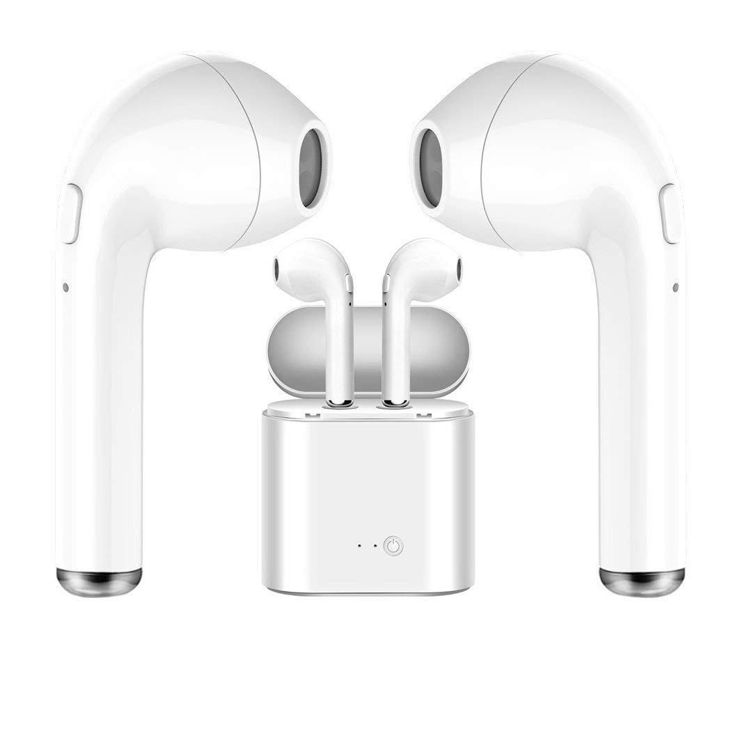 Auriculares Inalambricos Bluetooth Twins I7s TWS Auricular inalámbrico Auricular intrauditivo Auricular Auricular con Estuche de Carga para iOS, Android, ...