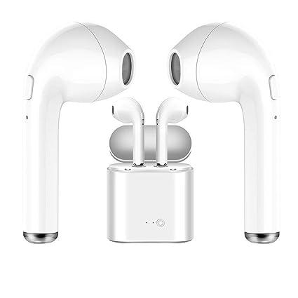 Auriculares Inalambricos Bluetooth Twins I7s TWS Auricular inalámbrico Auricular intrauditivo Auricular Auricular con Estuche de Carga