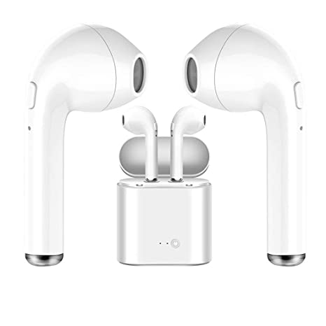Auriculares Inalambricos, Bluetooth 4.2 Manos libres Bluetooth Auriculares inalambricos para iphone X 8 8 Plus