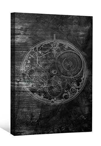 (Joeli JLE017 Steampunk Pick Pocket Watch Limited Edition Numbered Signed Gallery Wrap Canvas Wall Art, 36