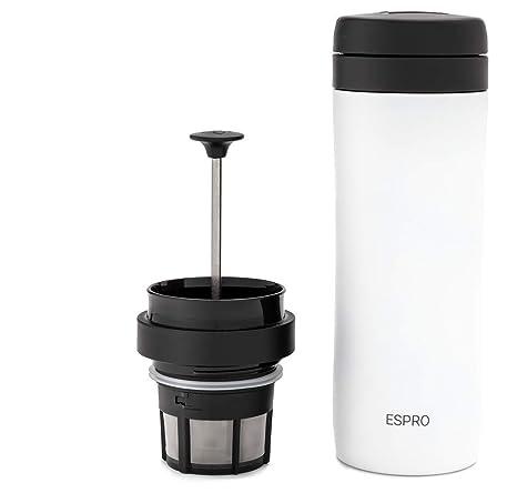 Amazon.com: Espro Travel Prensa de café, acero inoxidable ...