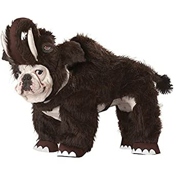 Animal Planet Woolly Mammoth Dog Costume - X-Small
