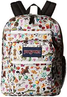 Jansport Classic BIG STUDENT BACKPACK (Multi Stickers)