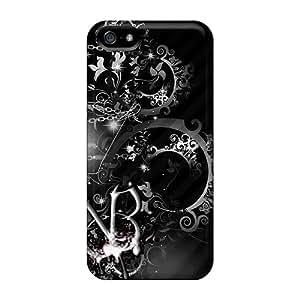 Iphone 5/5s SNl15059dIDv Unique Design Fashion Black Veil Brides Skin Perfect Hard Phone Covers -ColtonMorrill