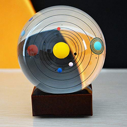 Trasparent 50//80mm Glass Crystal Healing Ball Photography Lens Ball Sphere Decoration