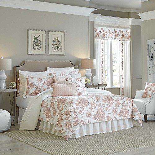 - Croscill Fiona California King Size Comforter Set in Blush