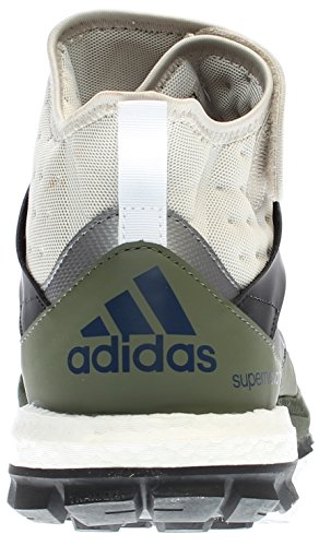 Adidas Performance Heren Supernova Riot M Trail Runner Helder / Bruin / Zwart / Base Groen S