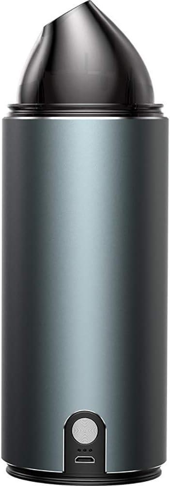 LUFKLAHN Limpiador Wireless Mini vacío, No Muertos Esquina de Limpieza, Conveniente for el Pet y el Pelo Polvo bajo la Alfombra del Piso o Muerto Corner (Color : Black)