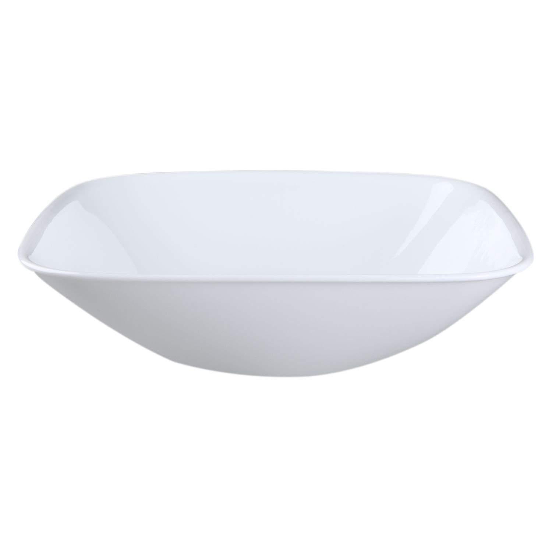 Corelle Square Round 1-1/2 Quart Serving Bowl Set of 3