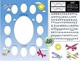 Baby Airplane Photo Mat 11 X 14