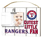 "KH Sports Fan 10""x8"" Texas Rangers Clip It Weathered Baby Logo Photo Frame"