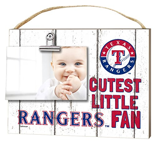 Texas Rangers Clip It Weathered Baby Logo Photo Frame (Texas Rangers Frame)