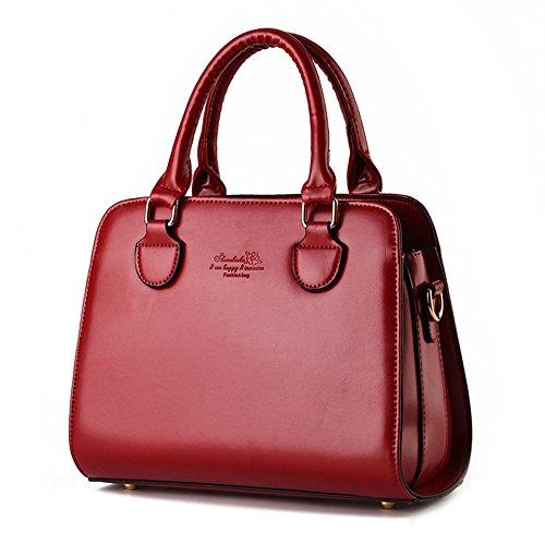 Wewod 28mx14cmx24cm Pour Jx Pochette Rotwein Femme Rose Multicolore ap75 multicolore rIr4f